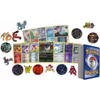 25 Assorted Pokemon Card Pack Lot This Comes With Foils, Rares, and Pokemon Collectible Coin