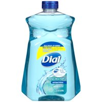 (2 pack) Dial Antibacterial Liquid Hand Soap with Moisturizer Refill, Spring Water, 52 Oz