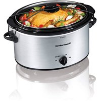 Hamilton Beach 5-Quart Portable Slow Cooker | Model# 33156