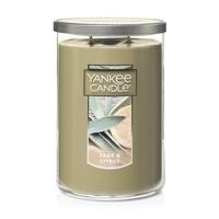Yankee Candle Large 2-Wick Tumbler Candle, Sage & Citrus