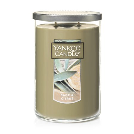Yankee Candle Sage & Citrus - Large 2-Wick Tumbler Candle Coconut Bay Yankee Candle