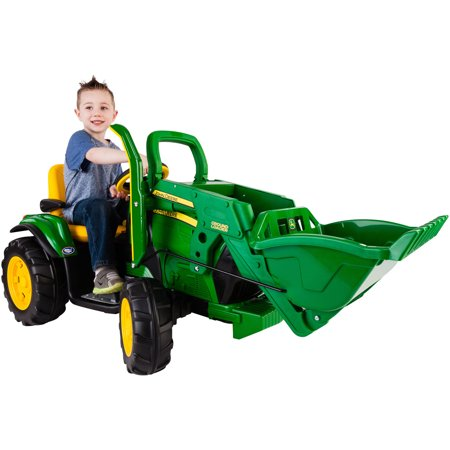 Peg Perego John Deere Ground Loader 12-Volt Battery-Powered (Best John Deere Riding Mower 2019)