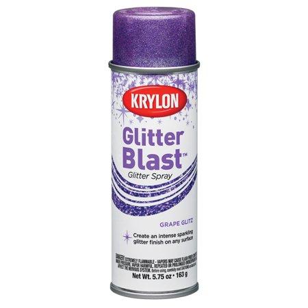 Krylon Glitter Blast Grape Glitz Spray Paint, 5.7 Oz. - Spray Paint Halloween