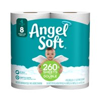 Angel Soft Toilet Paper, 4 Double Rolls