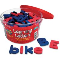 Learning Resources, LRNLER6304, Magnetic Learning Letters, 104 / Set, Multi