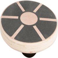 "Trademark Innovations Wood Balance Board, Wobble Balance Trainer, 15.5"""