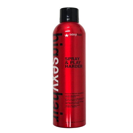 Short Sexy Hair Play Dirty (Big Sexy Hair Spray & Play Harder Firm Volumizing Hairspray 10 oz )