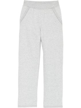Open Leg Fleece Sweatpant with Pockets (Little Girls & Big Girls)