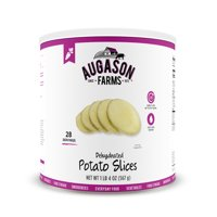 Augason Farms Dehydrated Potato Slices 1 lb 4 oz No. 10 Can