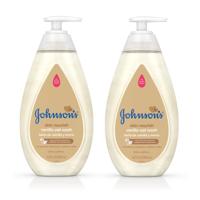 (2 pack) Johnson's Skin Nourish Baby Wash With Vanilla & Oat Extract, 16.9 fl. oz
