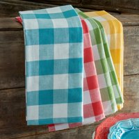 The Pioneer Woman Charming Check Kitchen Towels, Set of 4