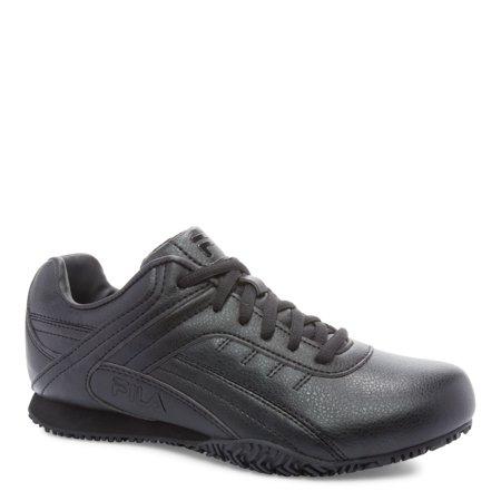 Women's Fila, Memory Elleray 5 Slip Resistant Work Sneaker Wide Width