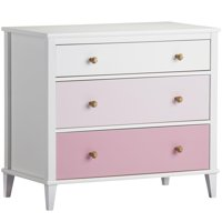 Little Seeds Monarch Hill Poppy 3-Drawer Dresser, Multiple Colors