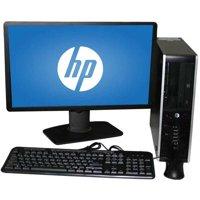 "Refurbished HP 6000 SFF Desktop PC with Intel Core 2 Duo E8400 Processor, 8GB Memory, 22"" LCD Monitor, 2TB Hard Drive and Windows 10 Home"