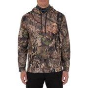ac3263dc0e6ea Mossy Oak Men's Long Sleeved Performance Fleece Camo Hunting Hoodie