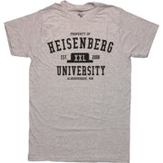 a60e5a9161 Breaking Bad Heisenberg University T Shirt Sheer
