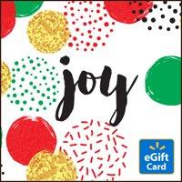 Holiday Joy Walmart eGift Card