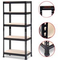 """Yaheetech 5 Tier Storage Rack Heavy Duty Shelf Steel Shelving Unit 27 by 12 by 59.1"""" Inch"""