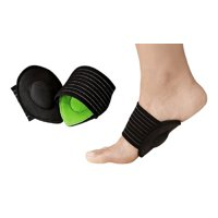 Dr Rogo Orthopedic Arch Support with Comfort Gel -Cushions Plantar Fasciitis Wrap-Compression Therapy