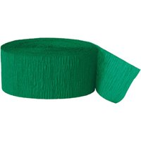 (4 Pack) Crepe Paper Streamers, 81 ft, Green, 1ct