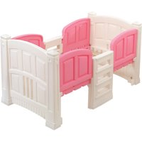 Step2 Loft Twin Bed with Storage, Pink