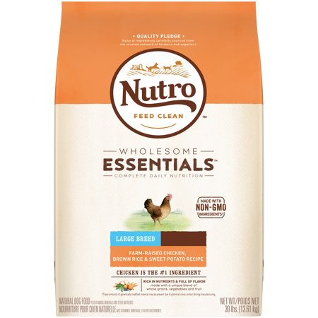 Nutro Wholesome Essentials Adult Large Breed Dry Dog Food Farm