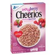 Very Berry Cheerios, Gluten Free, Breakfast Cereal, 10.9 oz Box