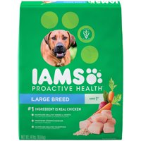 IAMS PROACTIVE HEALTH Adult Large Breed Dry Dog Food Chicken, 40 lb. Bag