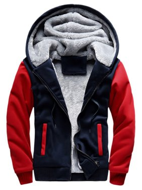 Winter Men Hooded Outwear Jacket Swearshirt