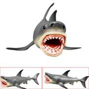 b24fecce5e5e6b BEAD BEE Megalodon Prehistoric Shark Ocean Education Animal Figure Model  Kids Toy Gift