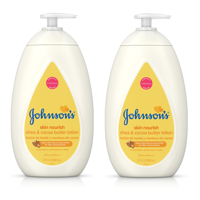 (2 pack) Johnson's Dry Skin Baby Lotion with Shea & Cocoa Butter, 27.1 fl. oz