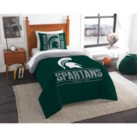 "NCAA Michigan State Spartans ""Modern Take"" Bedding Comforter Set"