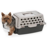 """Pet Champion Extra Small 19"""" Pet Dog Carrier, Brown/Black"""