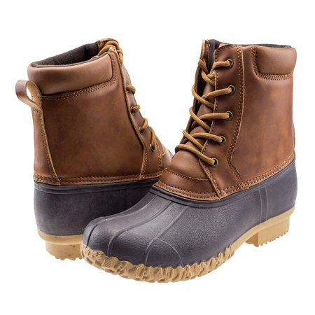 Anderson Bean Kids Boots (ArcticShield Mens Durable Waterproof Insulated Outdoor Rain Snow Duck Bean Boots )