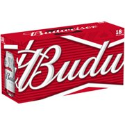 Budweiser Beer, 18 pack, 12 fl oz
