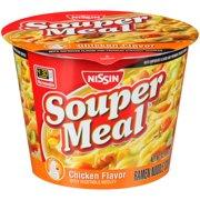 (3 Pack) Nissin Souper Meal Chicken Flavor with Vegetable Medley Ramen Noodle Soup, 4.3 oz