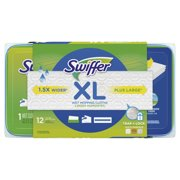 Swiffer Sweeper XL Wet Mopping Cloths, Open Window Fresh Scent, 12 count