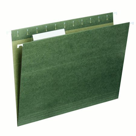 Smead Hanging File Folder, 1/3 Tab, Green, Letter Size, 25/Box - Letter I Crafts