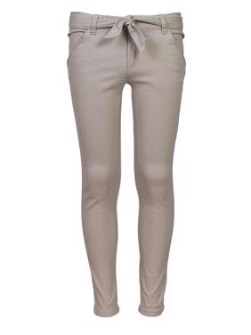 Girl's Uniform Flat Front Stretch Pant