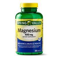 Spring Valley Magnesium Caplets, 400 mg, 250 Ct