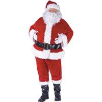 Complete Velour Christmas Santa Suit