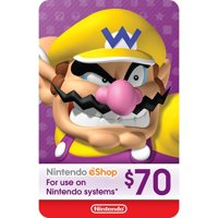 eCash - Nintendo eShop Gift Card $70 (Email Delivery)