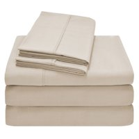 Premium 1800 Ultra-Soft Microfiber Collection Sheet Set - Double Brushed - Hypoallergenic - Wrinkle Resistant - Deep Pocket (Queen, Grey)
