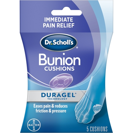 Dr. Scholl's BUNION Cushions with Duragel Technology, 5ct (One