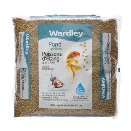 Wardley Pond Pellets Koi & Pond Fish Food, 5 lbs (Treatment Koi Pond)