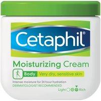 Cetaphil Body Dry Sensitive Skin Moisturizing Cream, 16 oz