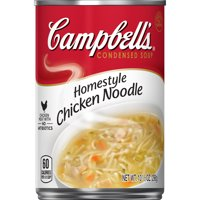 (8 Pack) Campbell'sCondensed Homestyle Chicken Noodle Soup, 10.5 oz. Can