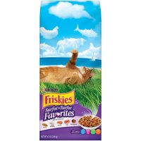 Friskies Surfin' & Turfin' Favorites Adult Dry Cat Food, 6.3 lb