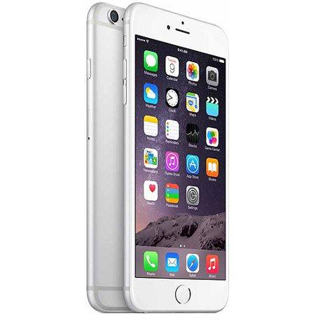 Straight Talk Prepaid Apple iPhone 6 Plus 16GB, Silver - Walmart.com cb090654f1af