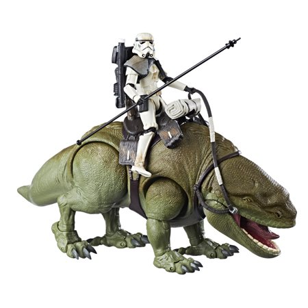 Star Wars The Black Series Dewback and Sandtrooper - Star Wars 7 Leia